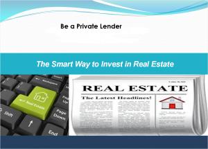 Be The Lender LOGO