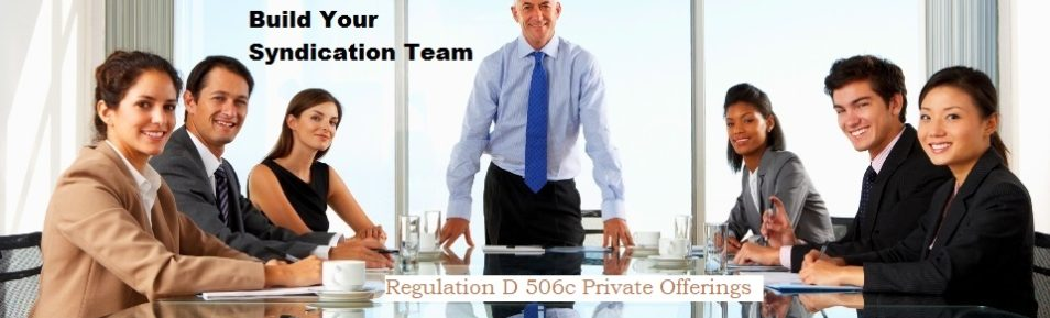 Build you syndication team