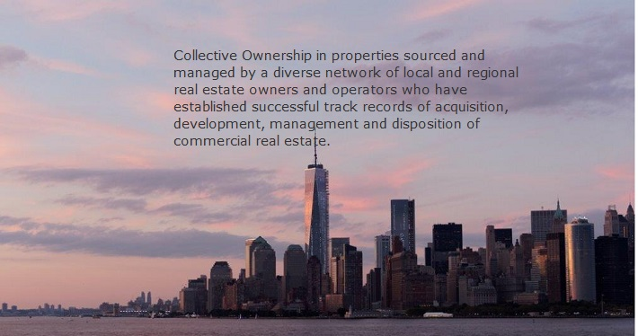 Collective ownership evening city