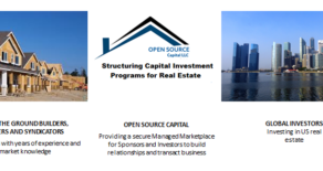 For Sponsors-         The Growth of Global Real Estate Investors