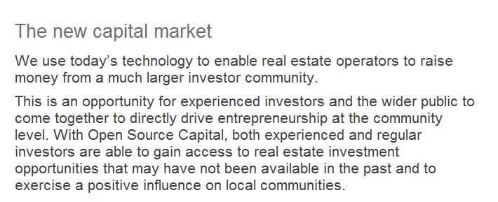 The wew capital market